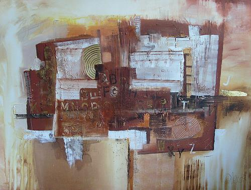 Alexandra von Burg Art Abstract art Modern Age Abstract Art