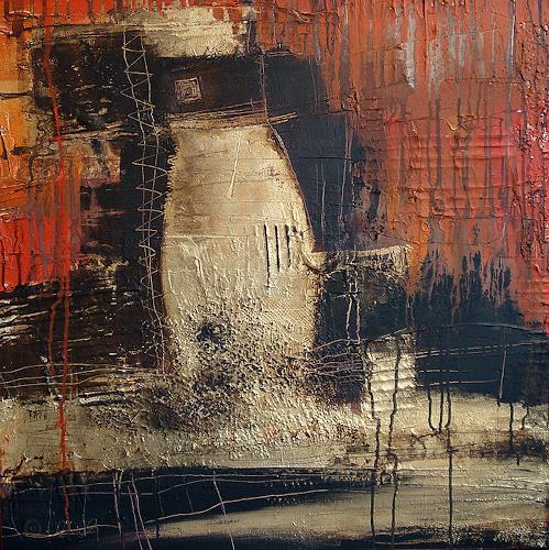 Alexandra von Burg, Eruzione due, Abstract art, Abstract Art, Modern Age