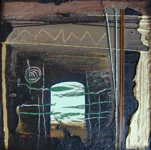Alexandra von Burg, Oltre (1), Abstract art, Abstract Art, Modern Age