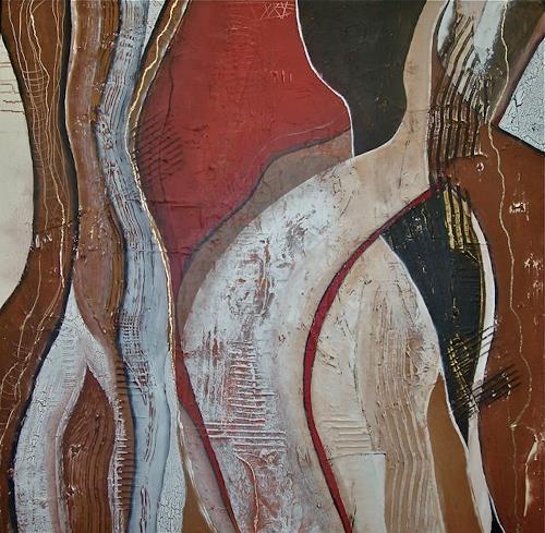 Alexandra von Burg, Incontri, Abstract art, Abstract Art, Modern Age