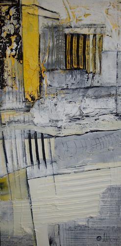 Alexandra von Burg, Evasione, Abstract art, Abstract Art, Modern Age