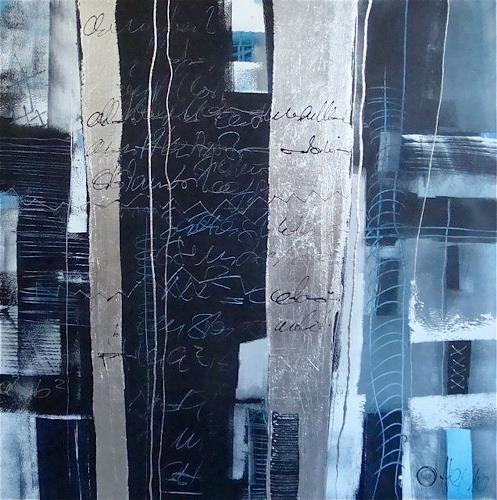 Alexandra von Burg, Parole e pensieri, Abstract art, Abstract Art, Modern Age