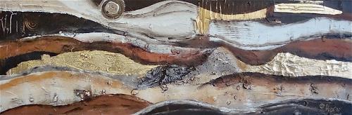 Alexandra von Burg, Fascino lunare, Abstract art, Abstract Art