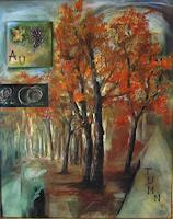 Riwi-Landscapes-Autumn-Nature-Wood-Modern-Age-Impressionism