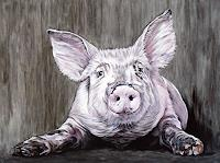 Clara-Bastian-Animals-Land-Humor-Modern-Times-Realism