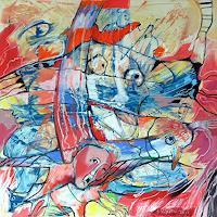 Johanna-Leipold-Fantasy-Mythology-Modern-Age-Expressive-Realism