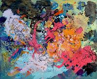 Johanna-Leipold-Abstract-art-Mythology-Modern-Age-Abstract-Art