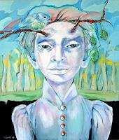 Johanna-Leipold-People-Faces-Fantasy-Modern-Age-Expressive-Realism