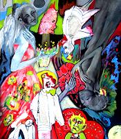 Johanna-Leipold-People-Fantasy-Modern-Age-Expressive-Realism