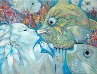 Johanna-Leipold-Animals-Water-Fantasy-Modern-Age-Expressive-Realism