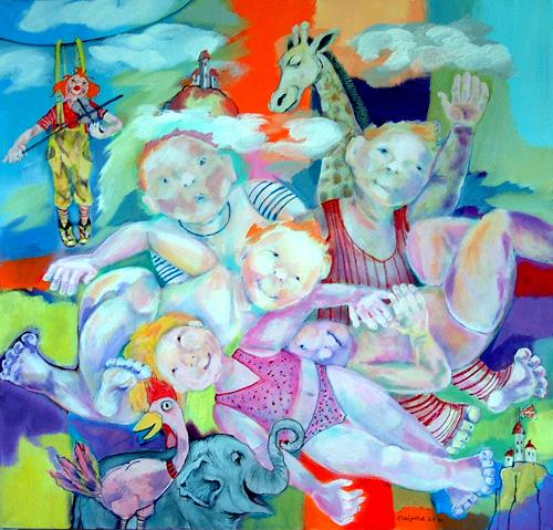 Johanna Leipold, Kinder an die Macht! (Groenemeyer), Poetry, People: Children, Expressive Realism, Abstract Expressionism