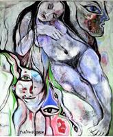 Johanna-Leipold-Mythology-Fantasy-Modern-Age-Expressive-Realism