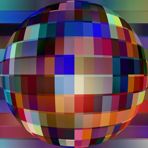 Niko Bayer, Sphere - 1, Abstract art, Decorative Art, Contemporary Art
