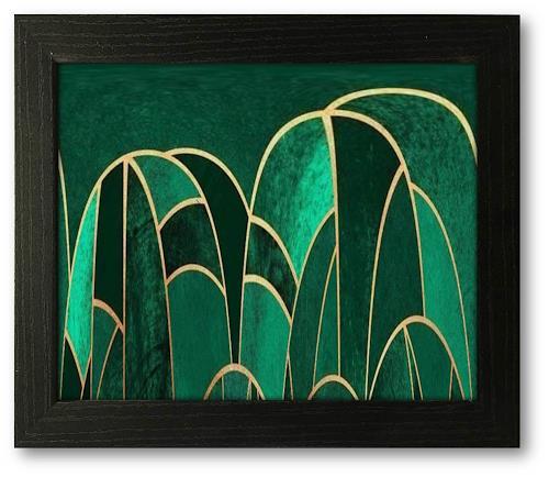 Niko Bayer, 1701200911, Abstract art, Fantasy, Art Déco