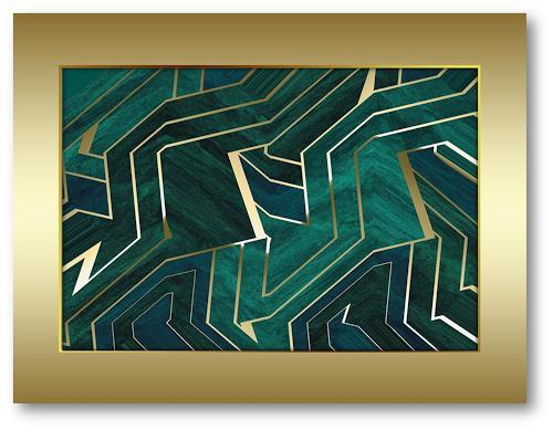 Niko Bayer, 1701200909, Abstract art, Fantasy, Art Déco