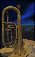 Guenter-Bauer-Music-Instruments-Still-life-Contemporary-Art-Contemporary-Art