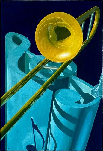 Günter Bauer, Posaune, Music: Instruments, Miscellaneous, Contemporary Art