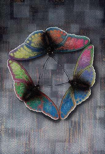 Achim Prill, Butterflies Flight, Decorative Art, Society, Contemporary Art