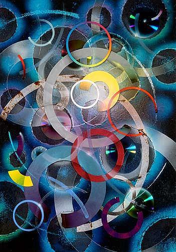 Achim Prill, Circles, Abstract art, Decorative Art, Contemporary Art