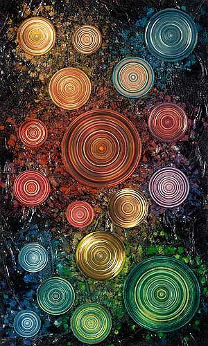 Achim Prill, Circulum 2, Abstract art, Movement, Contemporary Art