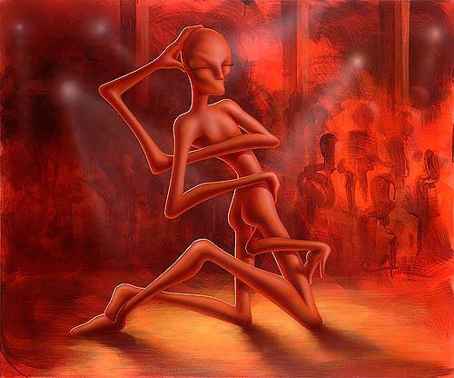 Achim Prill, Dance of the Medusa, Burlesque, Society, Contemporary Art