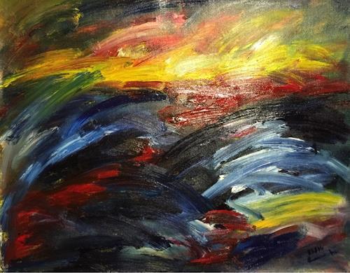Raphael Walenta, N/T, Abstract art, Emotions, Contemporary Art