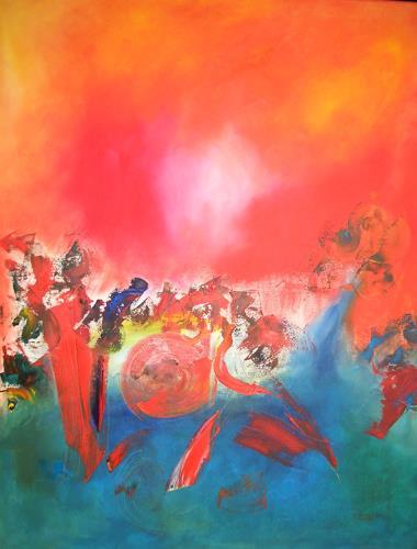 Hubert König, Mardi Gras, Abstract art, Movement