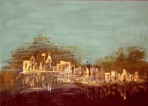 Hubert König, Worps-Vegas, Abstract art, Society