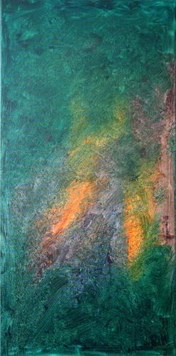 Hubert König, Ich wart' auf dich, Abstract art, Emotions: Love