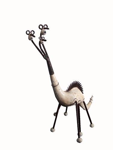 Thomas Joerger, Une famille un tour, Decorative Art, Animals: Land, Contemporary Art