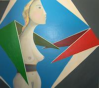 Thomas-Joerger-Erotic-motifs-Female-nudes-People-Women-Contemporary-Art-Contemporary-Art