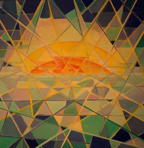 Thomas Joerger, Wasser & Licht, Miscellaneous Romantic motifs, Landscapes: Sea/Ocean, Contemporary Art
