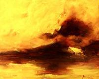 Uwe-Zimmer-Landscapes-Sea-Ocean-Landscapes-Summer-Modern-Age-Impressionism-Neo-Impressionism