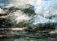 Uwe-Zimmer-Landscapes-Sea-Ocean-Nature-Water-Modern-Age-Impressionism-Post-Impressionism