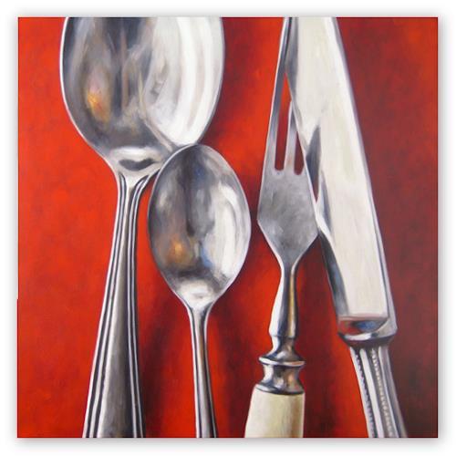 Klaus Boekhoff, Besteck, Meal, Expressionism