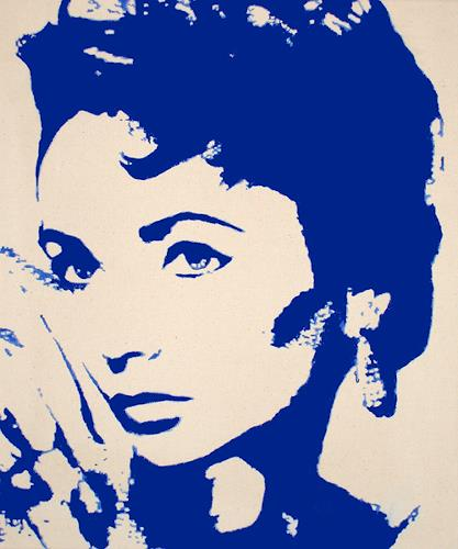 Günther Roth, Liz Taylor, People: Portraits, Pop-Art, Expressionism