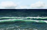 Sandra-Robertz-Nature-Water-Landscapes-Sea-Ocean-Modern-Age-Conceptual-Art