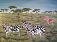 Haike-Espenhain-Society-Animals-Land-Modern-Age-Abstract-Art