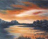 Haike-Espenhain-Landscapes-Sea-Ocean-Romantic-motifs-Sunset