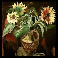 Albert-Lascaux-Plants-Flowers-Still-life