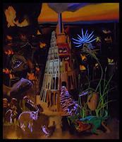 Albert Lascaux, Der Turmbau zu B. (Skizze/Ideeensammlung)