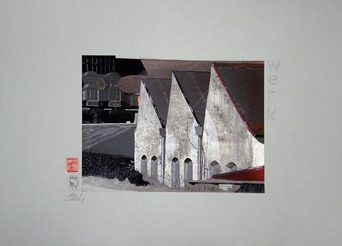 Gerhard W. Schmidbauer, Maschinenfabrik Heid, Architecture, Industry  , Photo-Realism, Expressionism