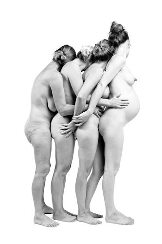 Martin Böttcher, GENERATIONEN, Erotic motifs: Female nudes, Erotic motifs: Male nudes, Contemporary Art, Abstract Expressionism