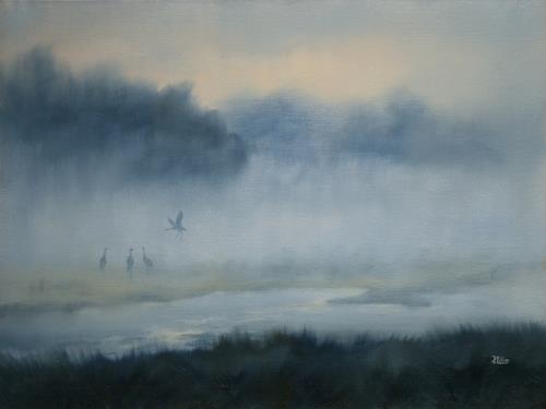 Joachim Lilie, Morgenstimmung, Miscellaneous Landscapes, Naturalism