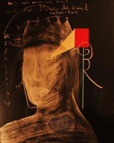 gerd Rautert, erinnerung an die kreidezeit, History, Abstract Expressionism