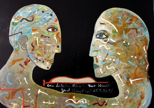 gerd Rautert, ein letzter Blick zur Kunst, The world of work, Expressionism