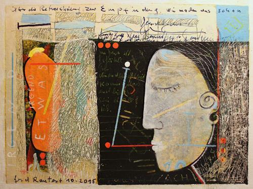 gerd Rautert, über die betrachtung zur empfindung, Situations, Expressionism, Abstract Expressionism
