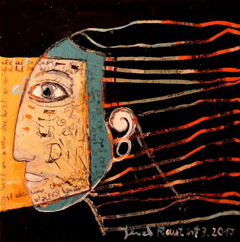 gerd Rautert, bin bei dir, Belief, Expressive Realism, Abstract Expressionism