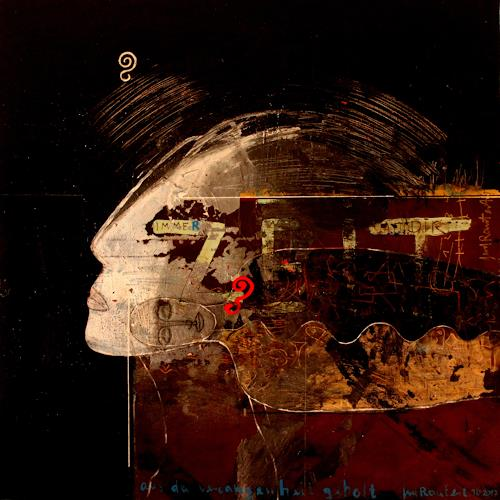 gerd Rautert, übermalte zeit befreit, Miscellaneous Emotions, Neo-Expressionism, Abstract Expressionism