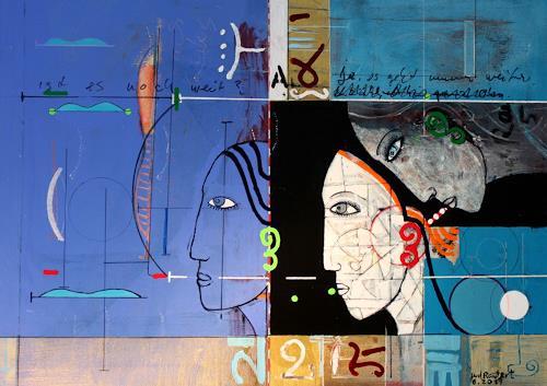gerd Rautert, wer oder was sieht durch wen, Situations, Expressionism, Abstract Expressionism